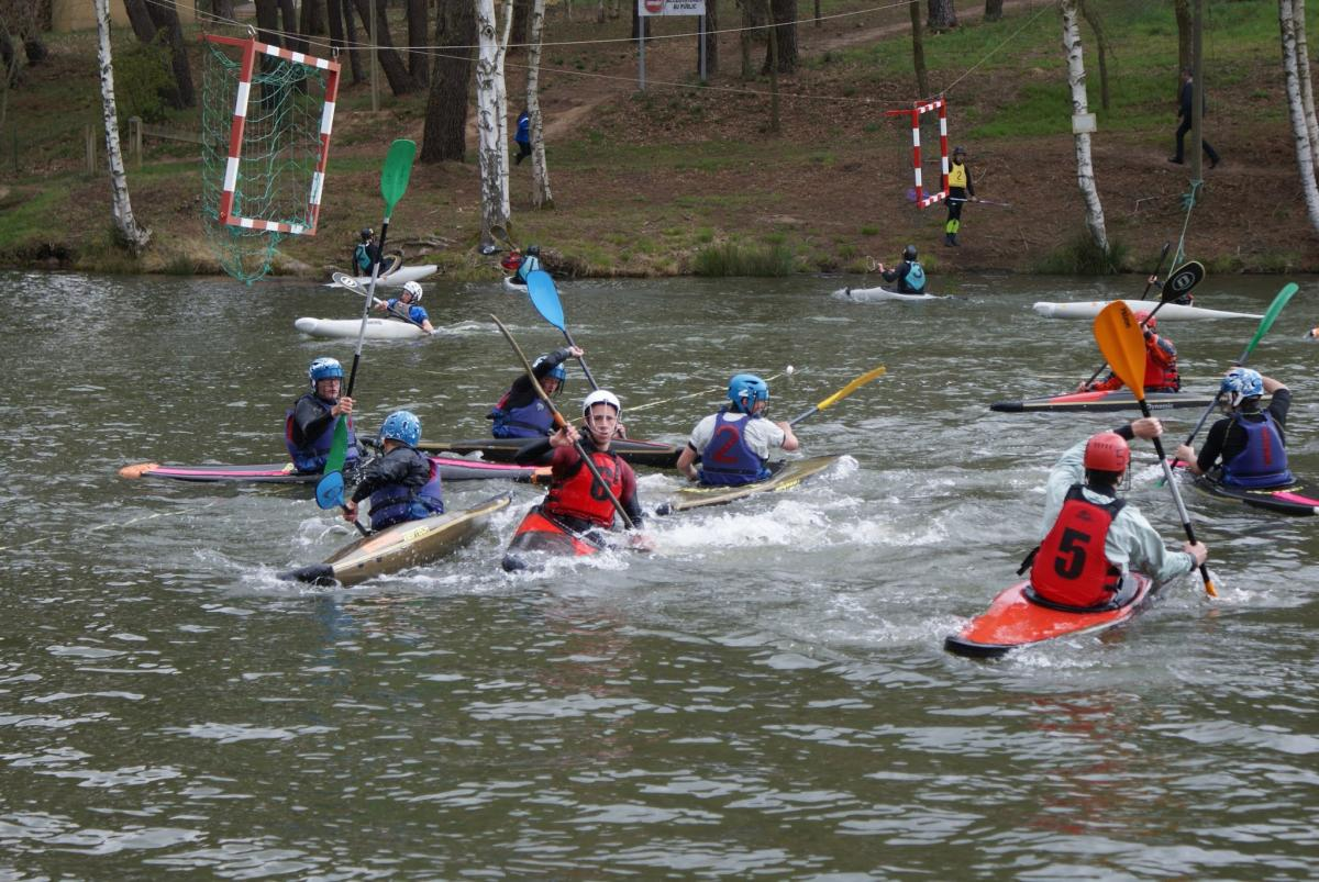Kayak-polo à Trémelin