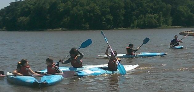 Stages découverte kayak en Pays de Brocéliande
