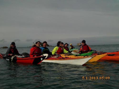 Groupe Rando - Bivouac en Baie de Morlaix (07/05/2017)